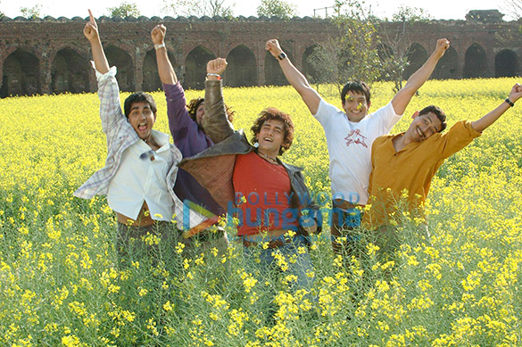Siddharth, Kunal Kapoor, Aamir Khan, Sharman Joshi, Atul Kulkarni