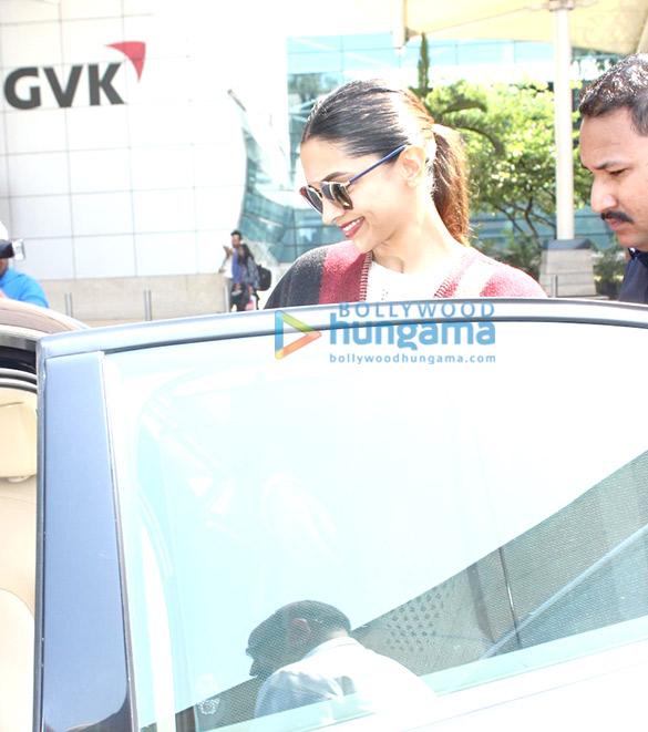 Deepika Padukone, Shriya Saran and others snapped at the airport