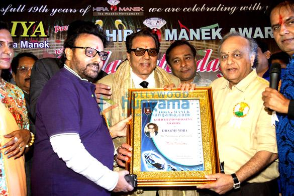 Anil Sharma, Dharmendra, Bharat Shah, Hardik Hundiya