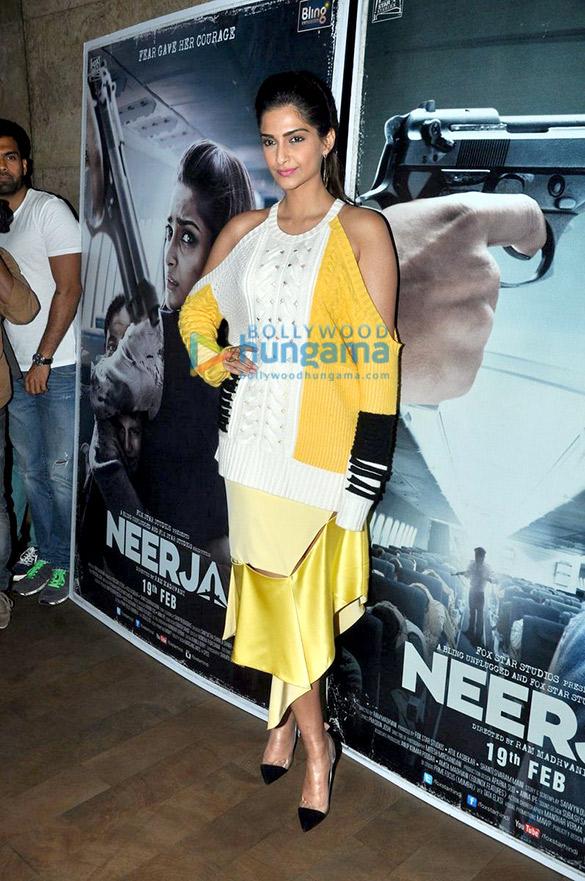 Song launch of 'Neerja' at Lightbox