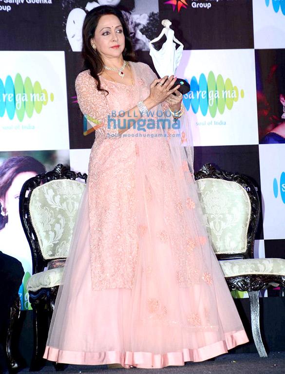 Amitabh Bachchan, Jaya Bachchan & Dharmendra unveil Hema Malini's album 'DreamGirl'