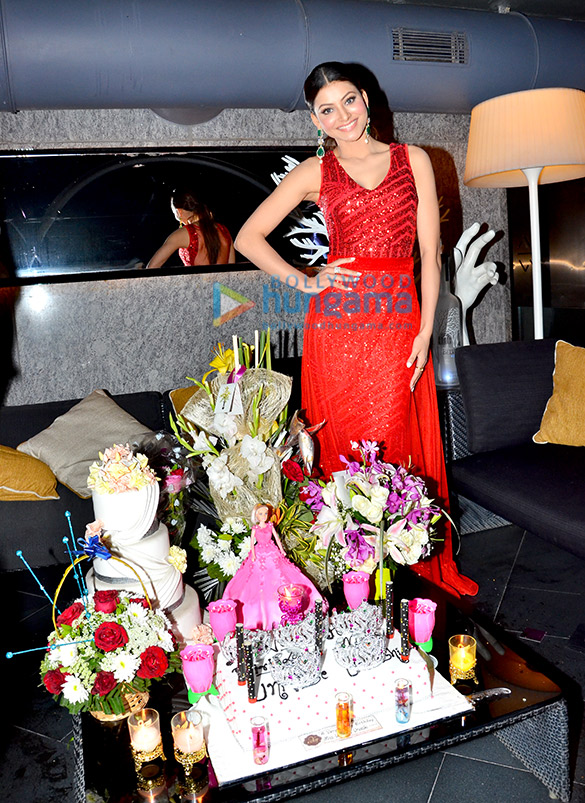 Urvashi Rautela celebrates her birthday with her family and director Inder Kumar