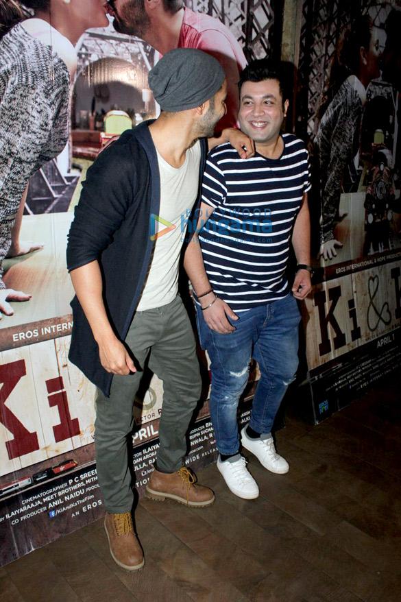 Amitabh Bachchan, Varun Dhawan & others at the screening of 'Ki & Ka'