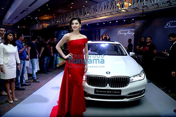 Urvashi Rautela unveils the latest model of BMW's 7 series