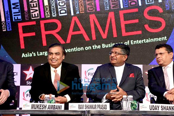 Mukesh Ambani, Ravi Shankar Prasad, Uday Shankar