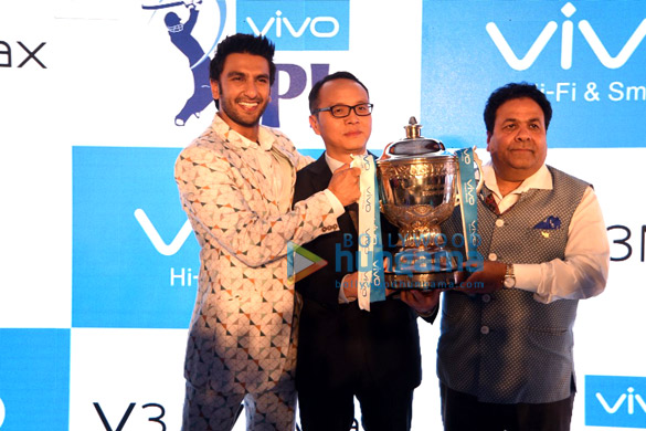 Ranveer Singh at the launch of Vivo mobiles in India