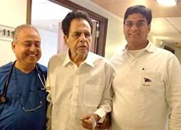 Dilip Kumar is recovering, to be discharged by Saturday
