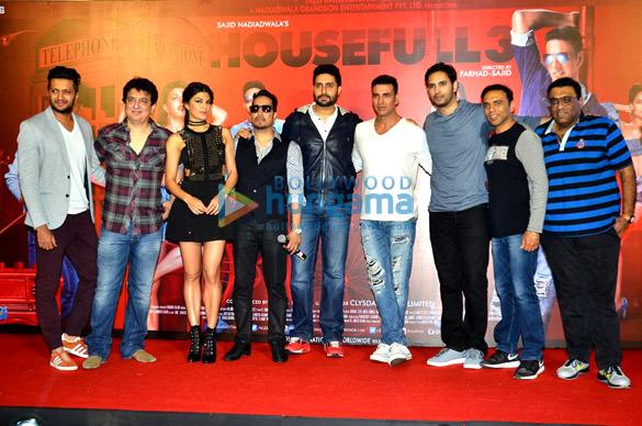 Riteish Deshmukh, Sajid Nadiadwala, Jacqueline Fernandez, Mika Singh, Abhishek Bachchan, Akshay Kumar, Farhad, Sajid