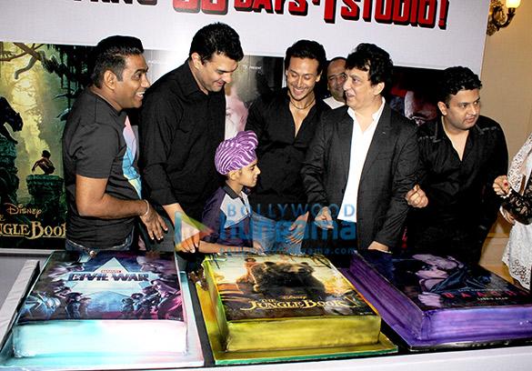 Sabir Khan, Siddharth Roy Kapur, Tiger Shroff, Sajid Nadiadwala, Bhushan Kumar