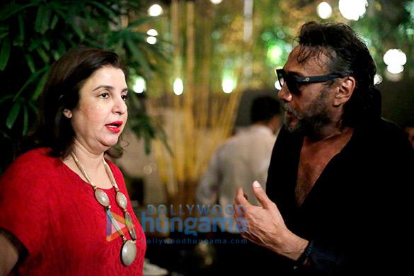 Farah Khan, Jackie Shroff