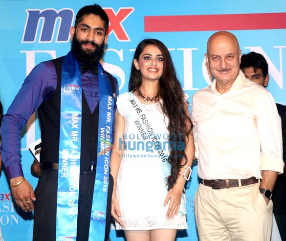 Grand Finale of 'Max Fashion Icon India 2016'