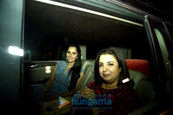 Sania Mirza, Farah Khan