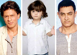 Shah Rukh Khan's son AbRam is in love with the toys gifted by Aamir Khan