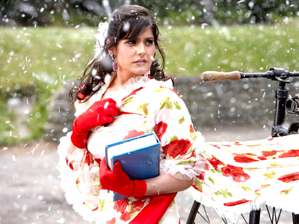 Movie Still From The Film Veer,Zarine Khan