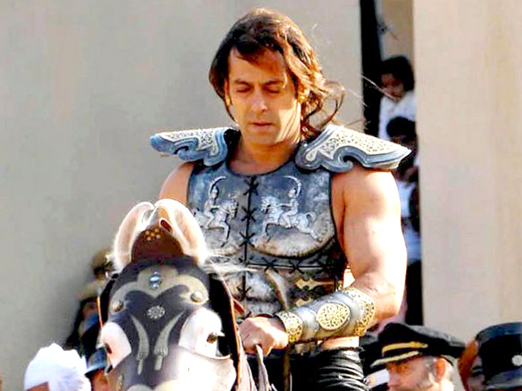 On The Sets Of The Veer (2009) Featuring Salman Khan