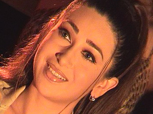 On The Sets Of The Film Mere Jeevan Saathi Featuring Karisma Kapoor