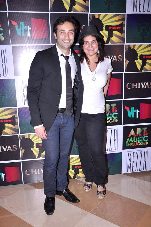 Celebs at Chivas Art & Music Unplugged