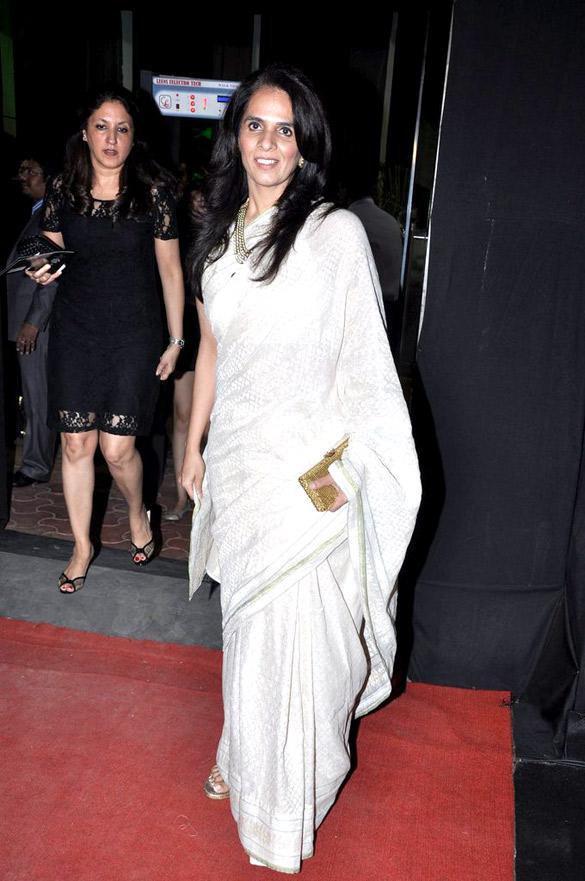 Nargis Fakhri walks the ramp at Aamby Valley India Bridal Fashion Week 2012 Finale