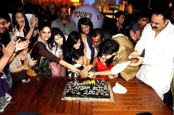 Celebs grace Raakesh Paswan's party for his show Afsar Bitiya
