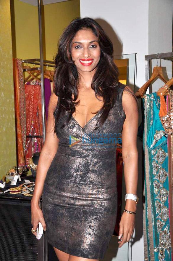 Sagarika & Tulip at Ritika Bharwani's Diwali collection for Amara