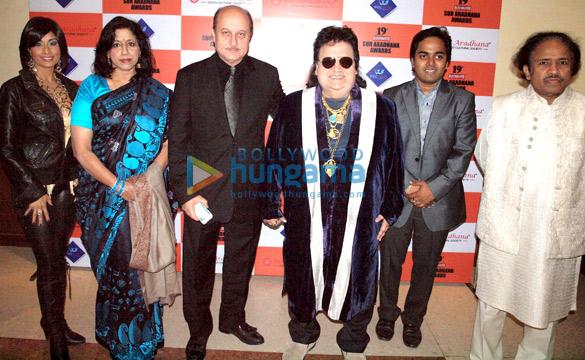 Aiysha Saagar, Kavita Krishnamurthy, Anupam Kher, Bappi Lahiri, Vishal Sharma, L Subramaniam
