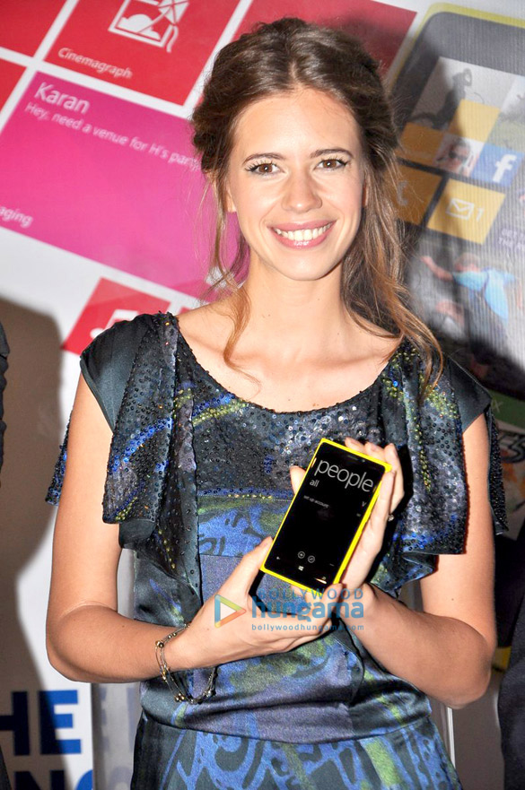 Kalki Koechlin unveils Nokia Lumia 820 & 920 mobile