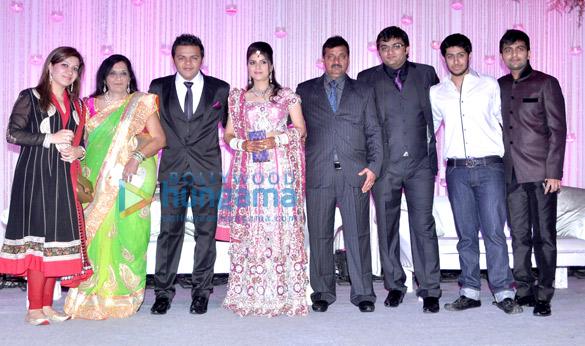 Gaurav Parikh & Shivani Arora's wedding reception