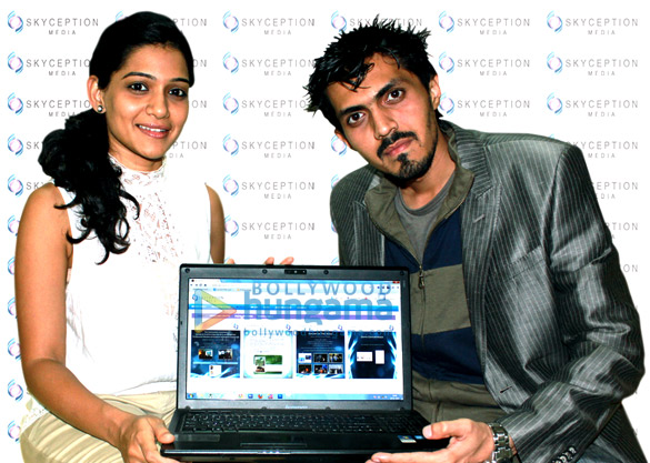 Roman Sen's birthday bash and launch of his website