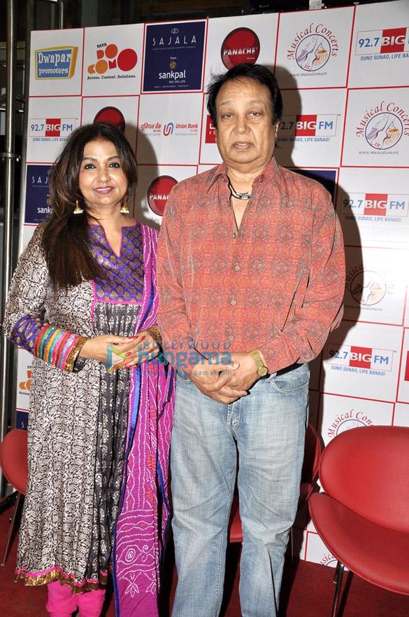 Bhupinder & Mitali at the press conference Of 'Ek Ehsaas…' concert