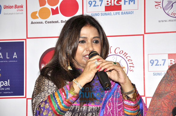 Bhupinder & Mitali at the press conference Of 'Ek Ehsaas…' concert