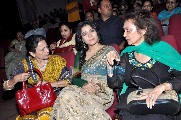 Tanuja, Kajol, Chitra Singh
