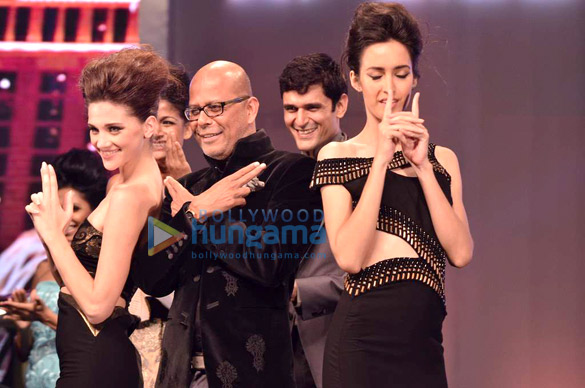 Niketan Madhok, Vidya Malvade at Narendra Kumar's fashion show for Jaguar