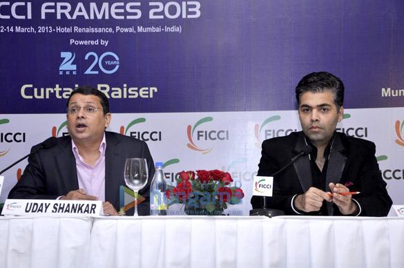 Uday Shankar, Karan Johar