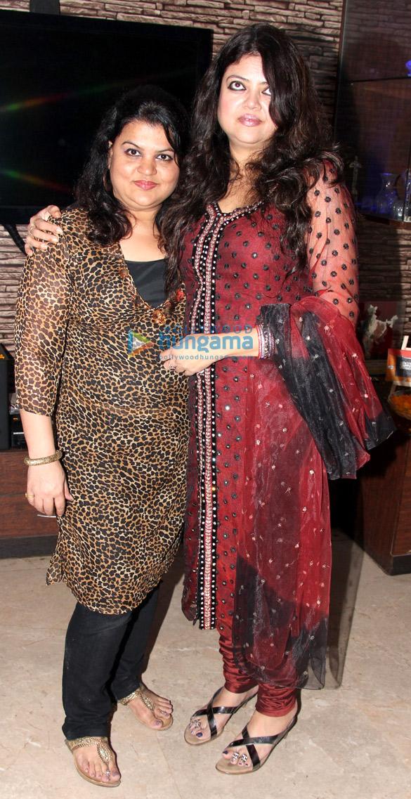 Sanjay Sharma's birthday celebrations
