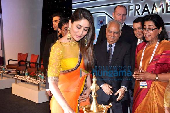 Karan Johar, Kareena Kapoor, Andy Bird, Ramesh Sippy, Uday Shankar, Naina Lal Kidwai