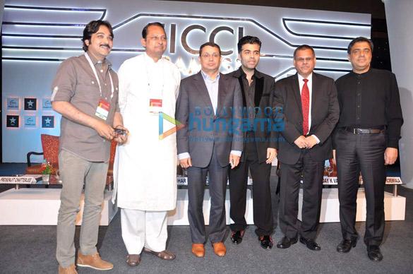 Uday Shankar, Karan Johar, Uday K Varma, Ronnie Screwvala