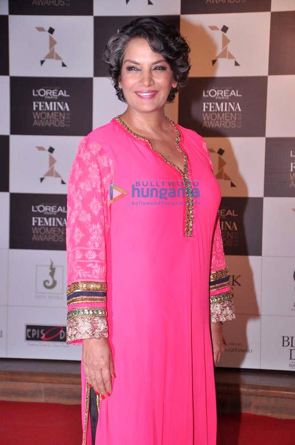 Vidya, Sonam, Aditi at 'Loreal Femina Women Awards 2013'
