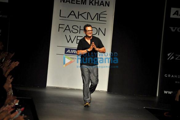 Freida Pinto at Naeem Khan show at Lakme Fashion Week 2013