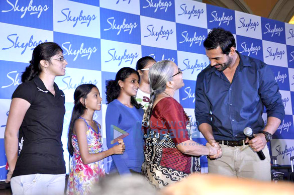 John Abraham snapped promoting VIP Skybag