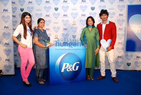 Prachi Desai and Vidyut Jamwal at P&G Thank You Mom