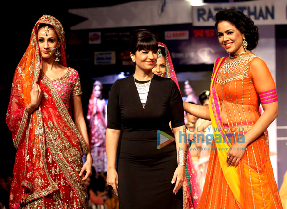 Celebs grace Rajasthan Fashion Week – Day 3
