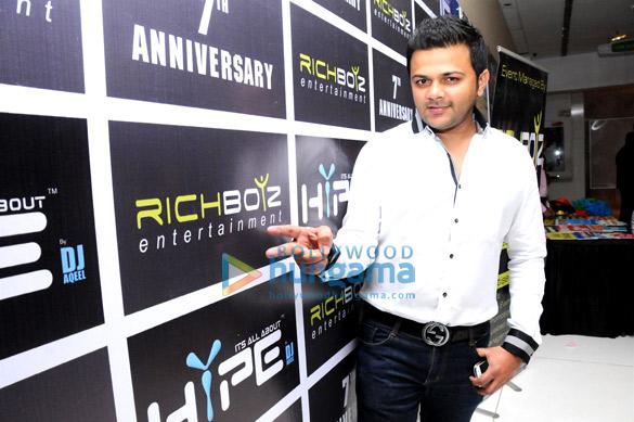 7th anniversary bash of Richboyz Entertainment