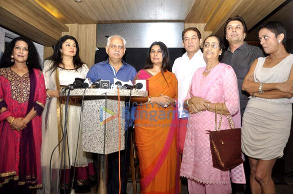 Press conference of TV serial 'Buniyaad'