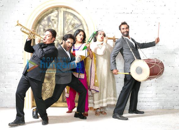 Vinay Pathak, Tusshar Kapoor, Vishakha Singh, Dolly Ahluwalia, Ranvir Shorey