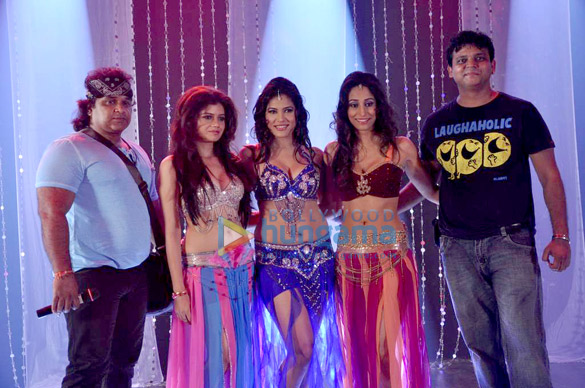 Item song shoot for film 'Black Moon'