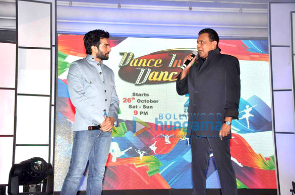 Mithun at Zee's DID launch