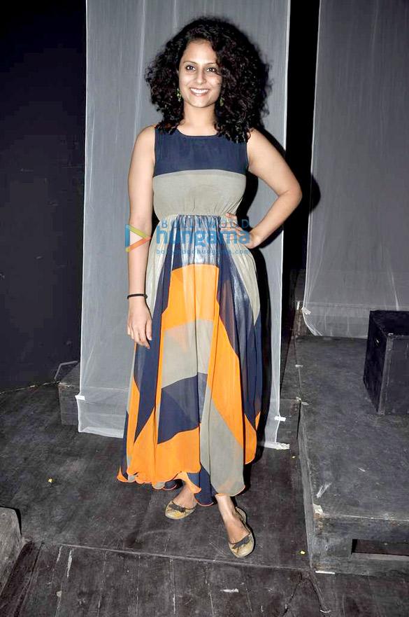 Kirti Kulhari at Rashomon Blues' play rehearsal