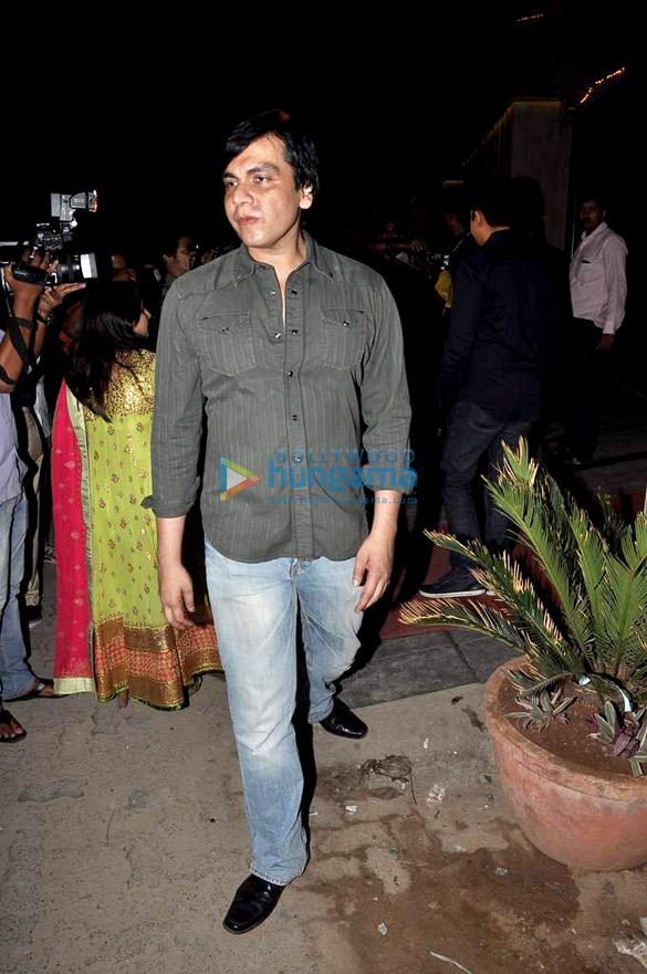 Shahid, Dia & Vivek at Sushil Gupta's Diwali bash
