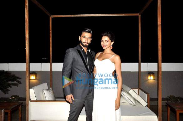 Candid and exclusive photo shoot with Ranveer & Deepika