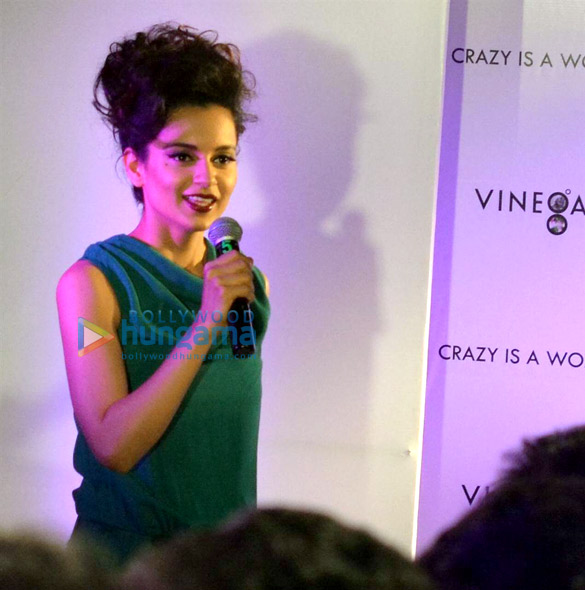 Kangna Ranaut launches Spanish women's brand 'Vinegar' in Hyderabad